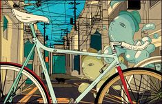 Illustration::The Ride Issue 1 - Shanghai