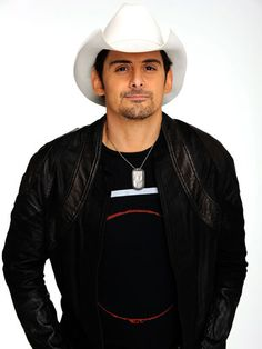 Brad Paisley. I just love his voice so much. I can listen to songs over and over and never get bored. Favorite country artist by far!