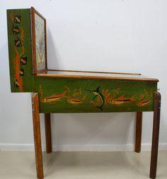 1940s Fishin Pinball Machine