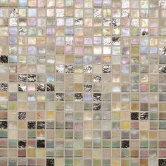 "Found it at Wayfair - City Lights 0.5"" x 0.5"" Glass Mosaic Tile in Beige"