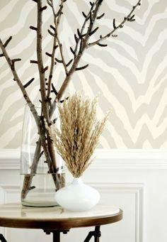 Thibaut Wallpaper: Etosha in Pearl