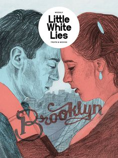 Little White Lies - About Today - Illustration by Lizzy Stewart - Love this treatment of color and pencil.