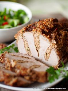 Pork Recipes, Cooking Recipes, Home Made Sausage, Good Food, Yummy Food, Roasted Meat, Pork Dishes, Special Recipes, Food Inspiration