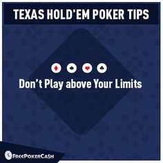 #PokerTips - Winning in your first poker game is not necessary, but you can definitely be poor. It is always advised to take only that amount of money that cannot break you.