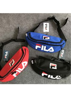 FILA Waist Bag pieces one set) Fanny Pack Luggage   Bags Sexy Lingeire e6bb2fb1fc6f3