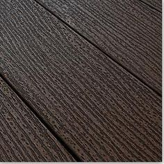 BuildDirect: Composite Decking - Style: Dark Brown Chocolate / Dimensions: 1