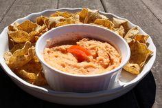 Healthy Tomato Hummus Dip Recipe