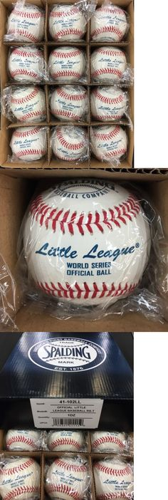 Baseballs 73893: Spalding Little League World Series Official Baseball Rs-T 41-102Ll Dozen -> BUY IT NOW ONLY: $54 on eBay!