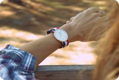 Daniel Wellington ribbon watches.
