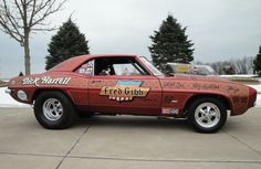 Vintage Drag Racing - Pro Stock - Dick Harrell