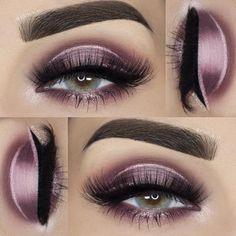 Pink & purple eyeshadow