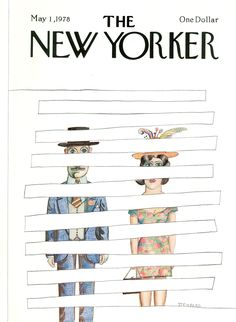 The New Yorker - Monday, May 1, 1978 - Issue # 2776 - Vol. 54 - N° 11 - Cover by : Saul Steinberg