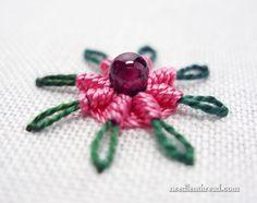 Chain Stitch Spider Daisy
