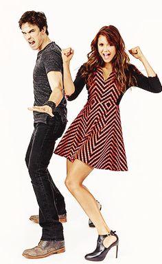 Ian and Nina at Comic Con 2013