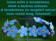Isten előtt a töredelmes lélek a kedves áldozat. A töredelmes és megtört szívet nem veted meg, Istenem! Zsolt 51:19,