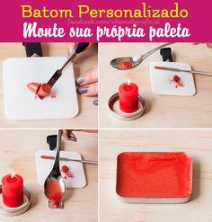 Batom personalizado! #make #tips #beleza #beauty