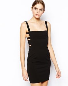 Solace London Mondino Body-Conscious Dress with Low Back