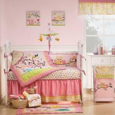 My favorite bedding for a baby girl.$164 for 6 pcs