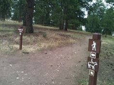Be sure to follow Castle Trail to see the old homestead and castle ruins.
