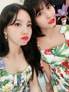 Nayeon and Momo