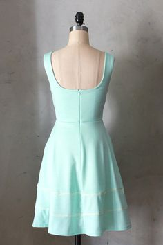 COQUETTE MINT Light mint green dress with от FleetCollection