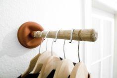 DIY clothing rack by MarylinJ