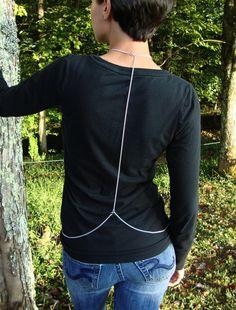 Spiderweb Body Harness by miznovember on Etsy