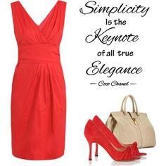 """""""Simplicity"""" by visigoda on Polyvore"""