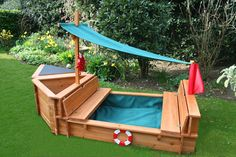 this has possibilities!  All it needs is a sandbox on the side :)