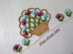 Basketed Needlepoint Model / T Needle Lace, Bobbin Lace, Butterfly Flowers, Lace Flowers, Bargello, Helly Hansen, Flower Basket, Baby Knitting Patterns, Needlepoint