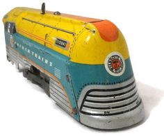 Vintage Hafner Tinplate Train For Sale
