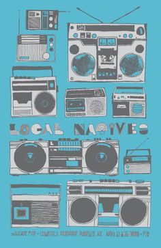 local natives. opened for arcade fire. best concert ever. apr2011