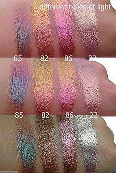 Inglot   Sueltos Perlas Sombra de ojos pigmentos puros minerales de sombra de ojos Glitter