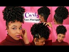 Easy Short Hair Updos That Will Take Eight Minutes or Less – HerHairdos Hairdos For Short Hair, Short Hair Styles Easy, Best Wedding Hairstyles, Ponytail Hairstyles, Updos, Fine Natural Hair, Natural Hair Styles, Pineapple Hairstyle, Hair Pineapple