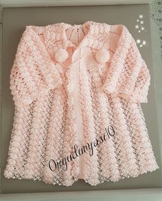 Baby Knitting Patterns, Crochet Baby, Diy And Crafts, Sweaters For Women, Lace, Clothes, Tops, Fashion, Sweater Vests