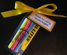 Clever Teacher gift....simple and easy.