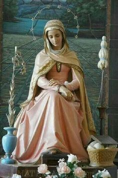 Mater Admirabilis also called The Pink Madonna Catholic Art, Catholic Saints, Religious Art, Roman Catholic, Blessed Mother Mary, Blessed Virgin Mary, Hail Holy Queen, Catholic Pictures, Mama Mary