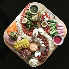 Weekend cheese board