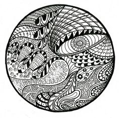 zentangle circles | Everything Comes Full Circle | zentangle ...