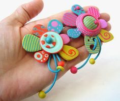 fimo - so much attention to detail!