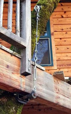 Treehouse cable turnbuckle