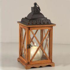 lanterne h 61 cm lanternes en bois lanterne et en bois. Black Bedroom Furniture Sets. Home Design Ideas