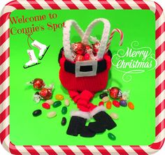 Connie's Spot© Crocheting, Crafting, Creating!: Free Crochet Christmas Goodie Bags Pattern©