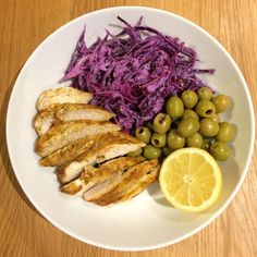 Let this Moroccan marinade take over your taste buds with the added crunch of a homemade red cabbage slaw on the side. Cabbage Slaw, Red Cabbage, Chicken Works, Real Food Recipes, Healthy Recipes, Moroccan Chicken, Taste Buds, Recipe Ideas, Homemade