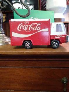 CoCa Cola Vintage Japan Tin Toy Truck 1966