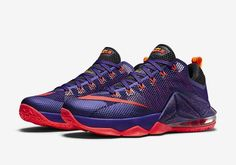 the best attitude 210e1 81ad9 Nike Lebron 12 XII Low Court Purple Basketball Shoes New James Size 11  Crimson Lebron Low