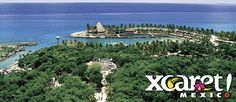We went to Cancun for our honeymoon and visited Xcaret, a fun eco park!