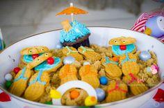 Angry Bird {Beach} birthday party | Simply Tale