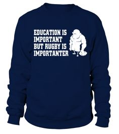 Rugby Is Importanter T Shirt   => Check out this shirt by clicking the image, have fun :) Please tag, repin & share with your friends who would love it. #Rugby #Rugbyshirt #Rugbyquotes #hoodie #ideas #image #photo #shirt #tshirt #sweatshirt #tee #gift #perfectgift #birthday #Christmas