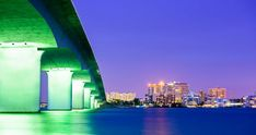 Take a walk over the Ringling bridge for great views of downtown Sarasota. -DineOutSRQ.com